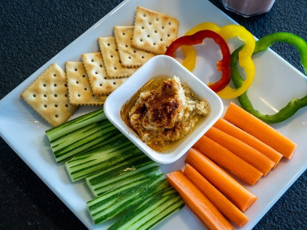 Hummus with Extra Virgin Olive Oil Recipe